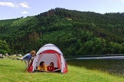 Campingplatz in Thüringen
