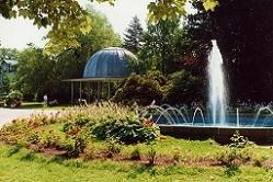 Trinkpavillon im Kurpark von Friedrichroda