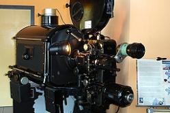 Historisches Abspielgerät im Kino