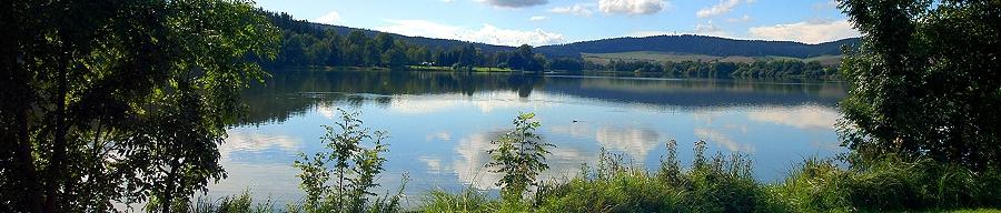 Der Stausee Hohenfelden (bei Erfurt)