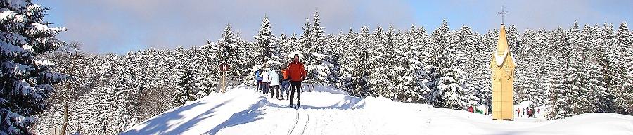 Winterlandschaft bei Oberhof
